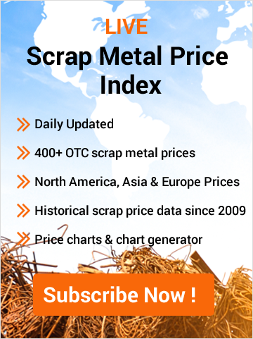 Subscribe Live Scrap Prices